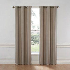 Nikki Thermal Insulated Grommet Darkening Curtains